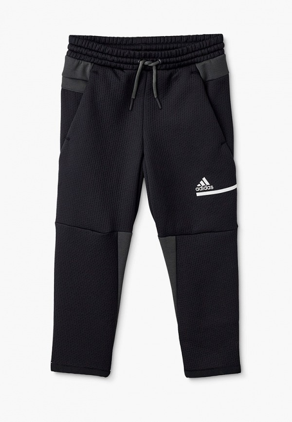 спортивные брюки adidas для мальчика, черные