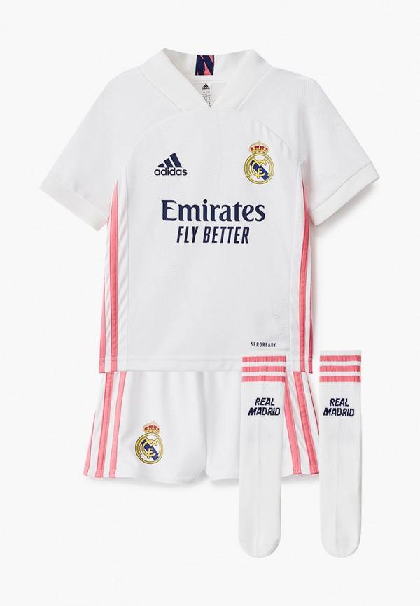 спортивный костюм adidas для мальчика, белый
