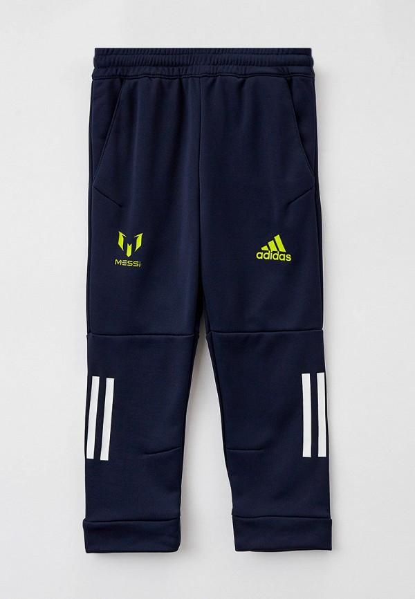 спортивные брюки adidas для мальчика, синие