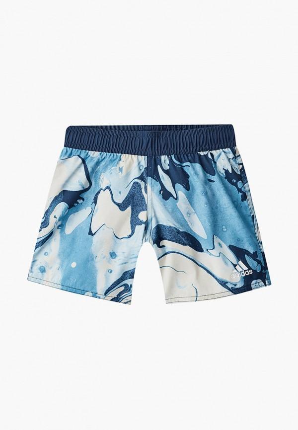 спортивные шорты adidas для мальчика, синие