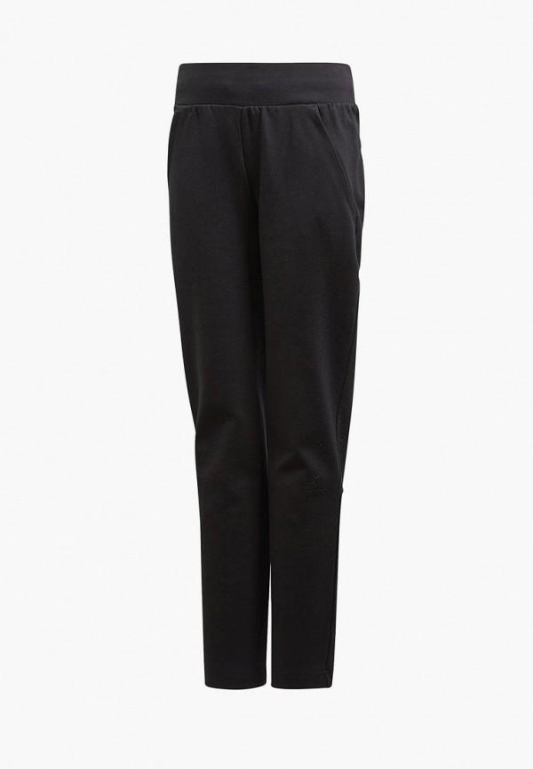 спортивные спортивные брюки adidas для девочки, черные