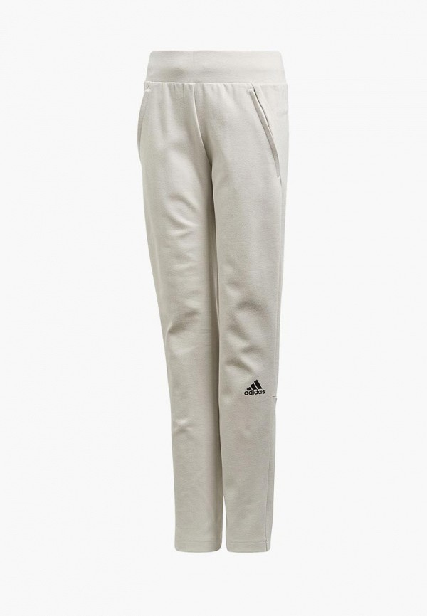 спортивные брюки adidas для девочки, серые