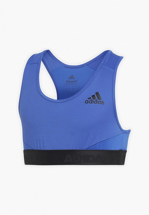спортивные спортивный бюстгальтер adidas для девочки, синий