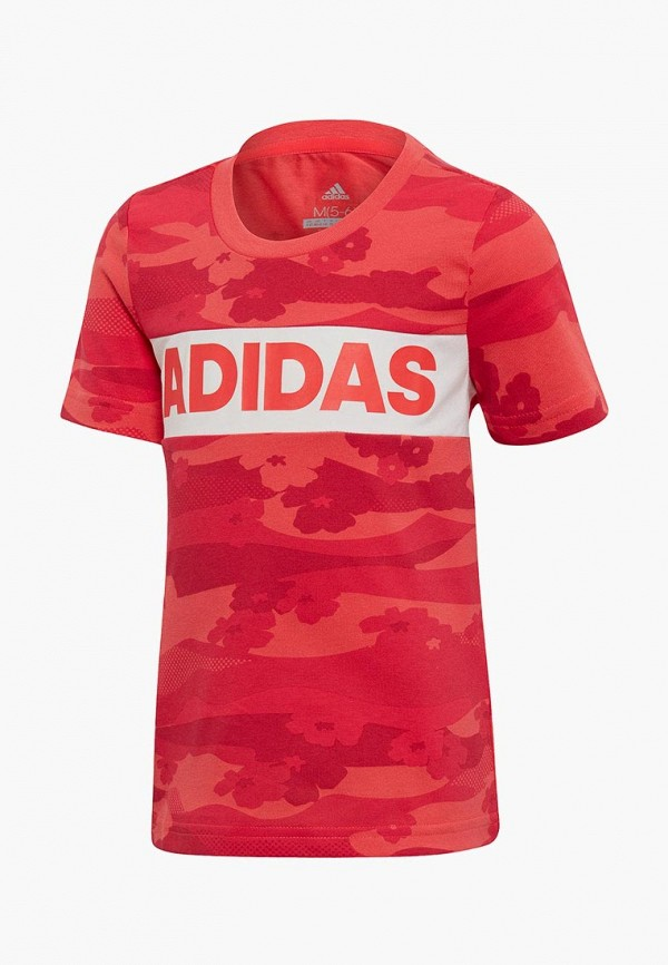 Футболка adidas adidas AD002EGEEBY6 стоимость