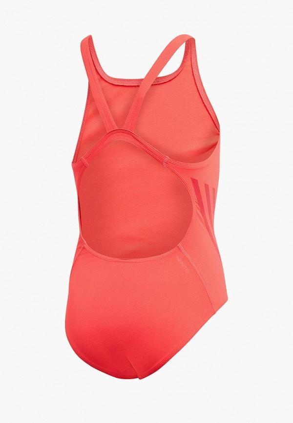 Фото 2 - Купальник adidas кораллового цвета