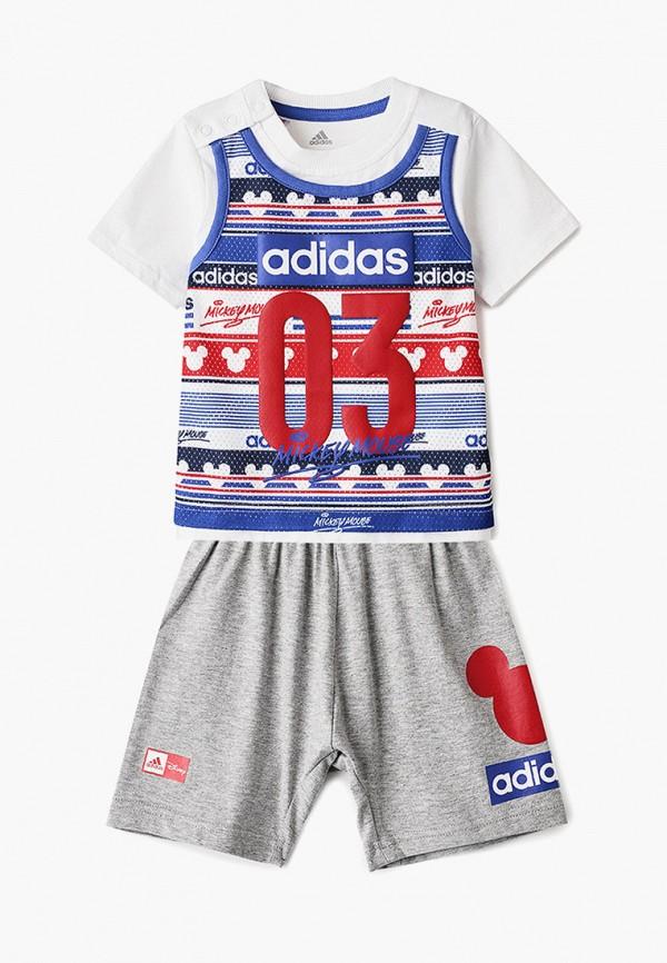 футболка adidas малыши, синяя