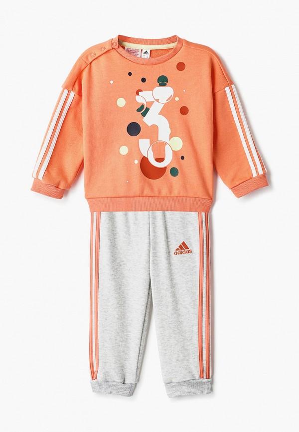 спортивный костюм adidas малыши, оранжевый