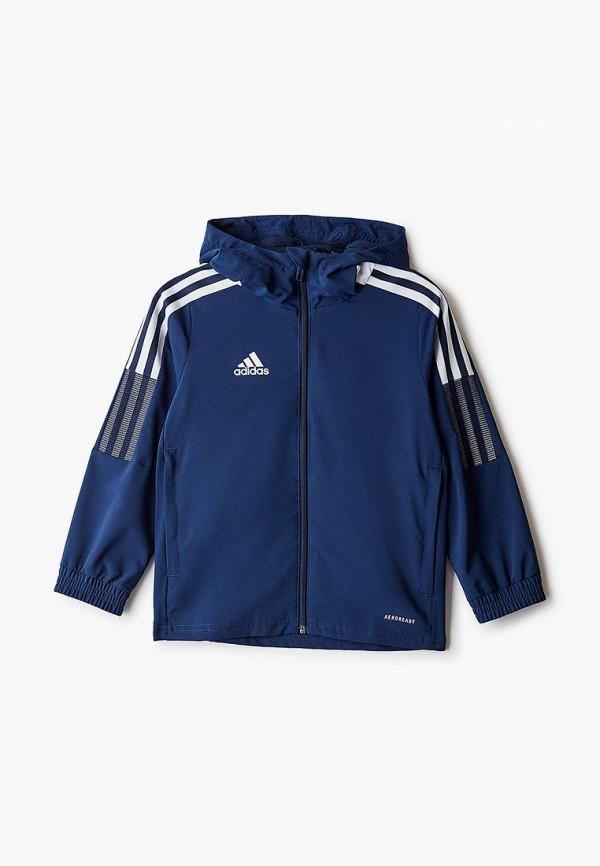 ветровка adidas малыши, синяя