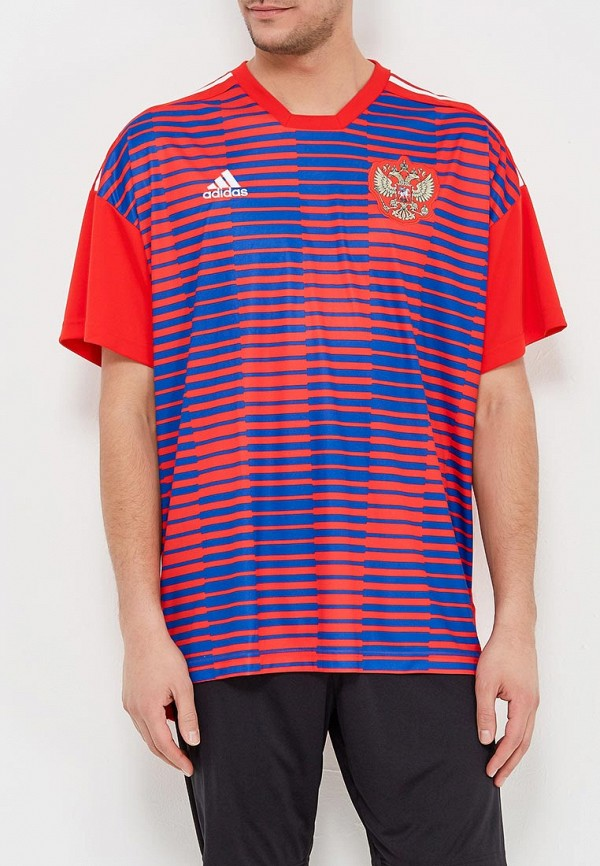 Футболка спортивная adidas adidas AD002EMALUO6 цена
