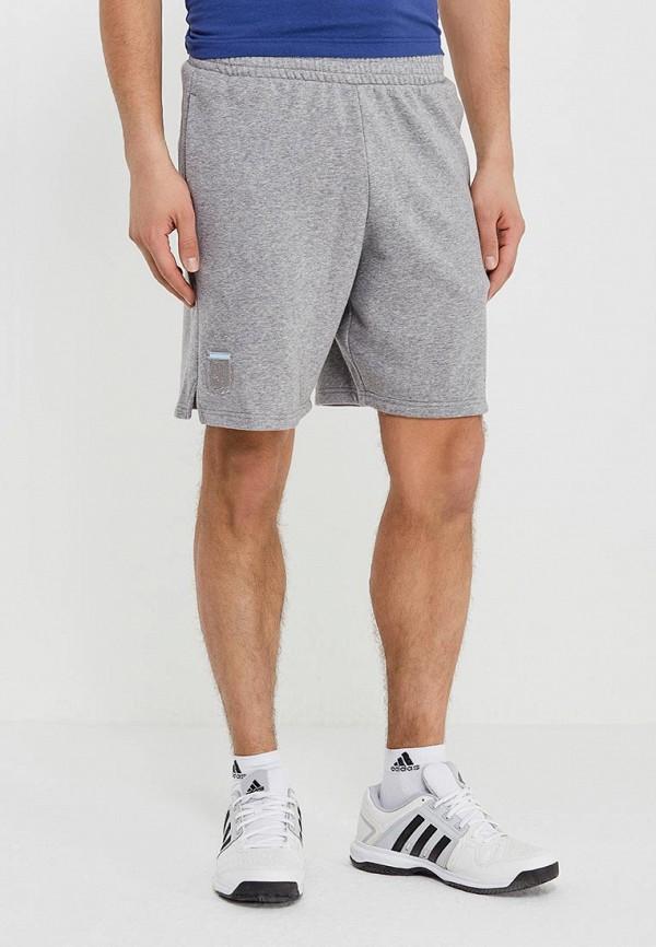 Купить Шорты спортивные adidas, adidas AD002EMALUU3, серый, Весна-лето 2018