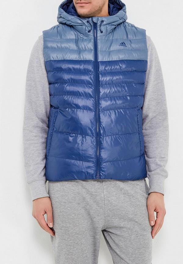Жилет утепленный adidas adidas AD002EMAMAZ4 пуховый жилет adidas w53326 w53321