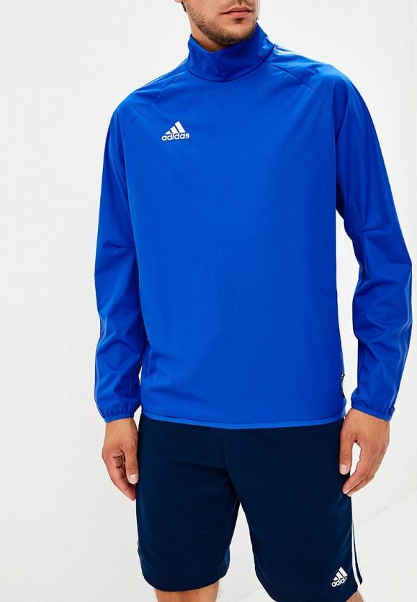 Купить Лонгслив спортивный adidas, adidas AD002EMCDFU1, синий, Осень-зима 2018/2019