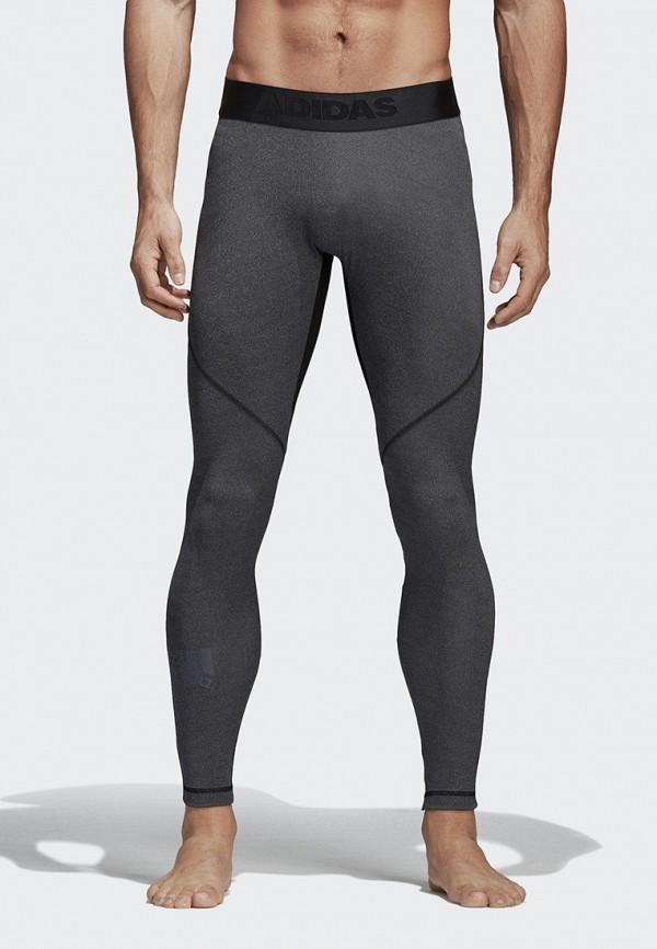 Фото - Тайтсы adidas серого цвета