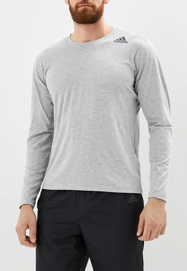 Купить Лонгслив спортивный adidas, FreeLift Pri LS, AD002EMCDFY8, серый, Осень-зима 2018/2019