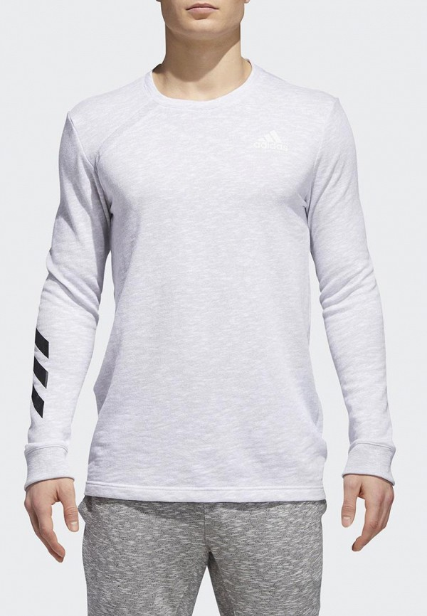 Купить Лонгслив спортивный adidas, adidas AD002EMCDFZ2, белый, Осень-зима 2018/2019