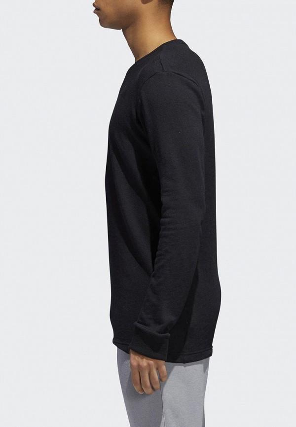Купить Лонгслив спортивный adidas, adidas AD002EMCDFZ3, черный, Осень-зима 2018/2019