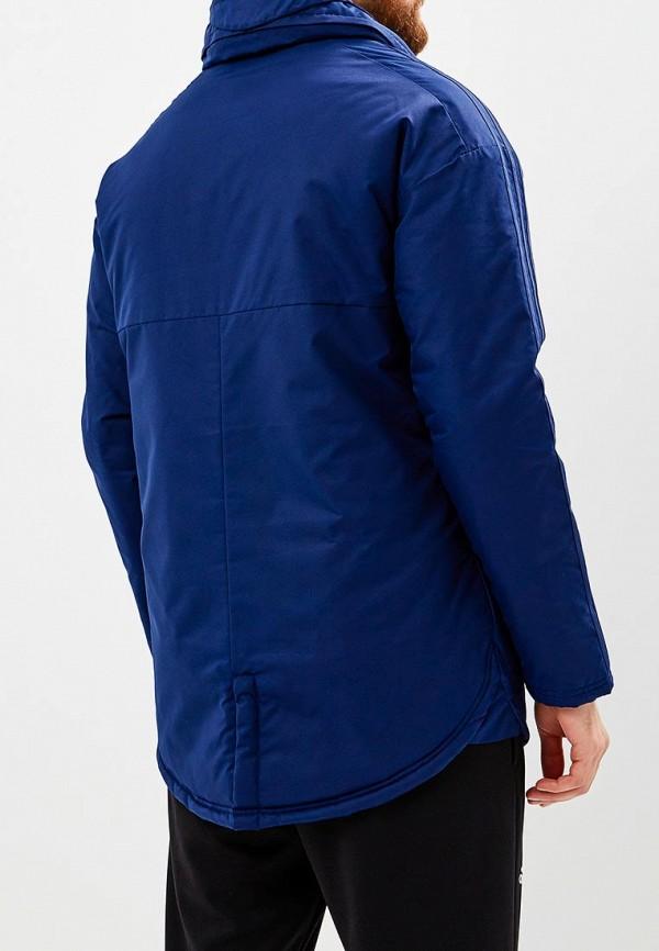 Фото 3 - Куртку утепленная adidas синего цвета