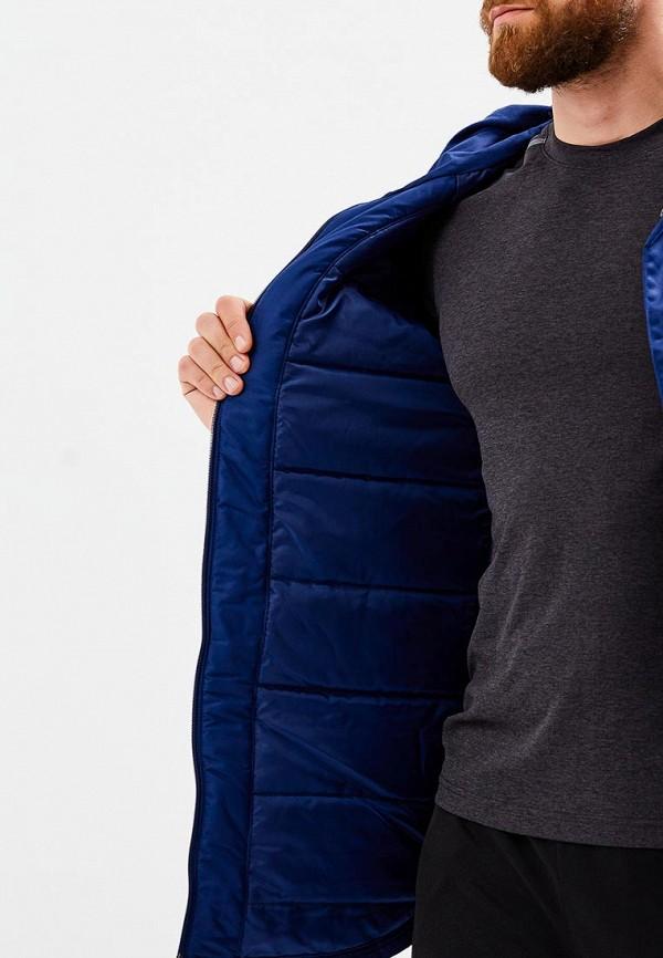 Фото 4 - Куртку утепленная adidas синего цвета