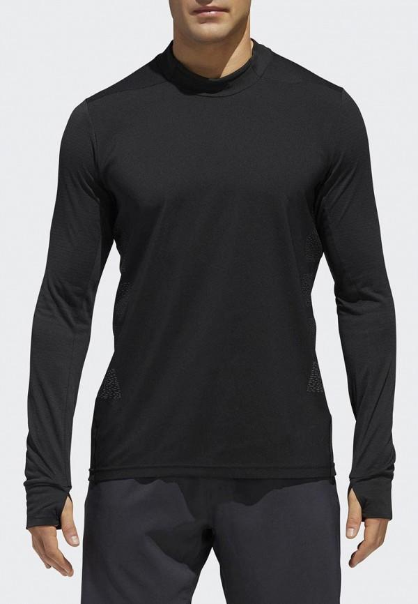 Купить Лонгслив спортивный adidas, adidas AD002EMCDGM6, черный, Осень-зима 2018/2019