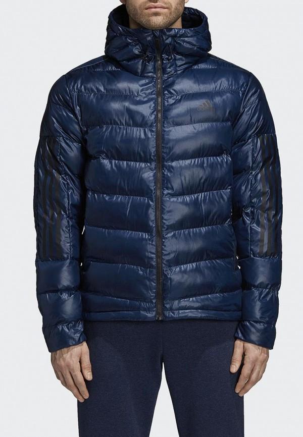 Купить Куртка утепленная adidas, adidas AD002EMCDGN8, синий, Осень-зима 2018/2019