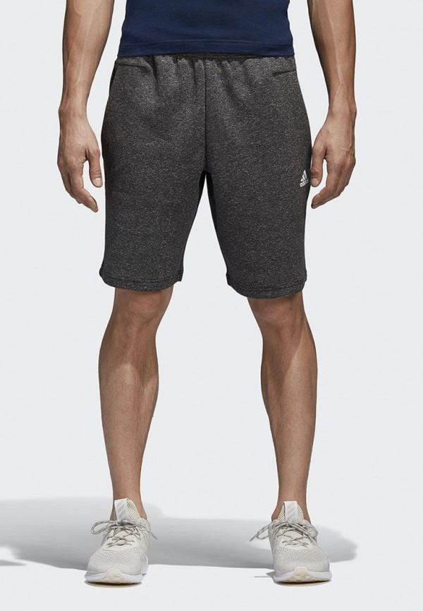 мужские повседневные шорты adidas, серые