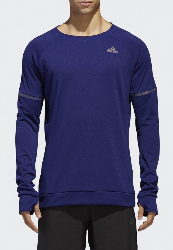 Купить Лонгслив спортивный adidas, adidas AD002EMCDGT6, серый, Осень-зима 2018/2019