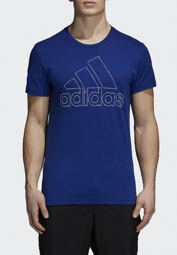 Футболка спортивная adidas adidas AD002EMCDGV8