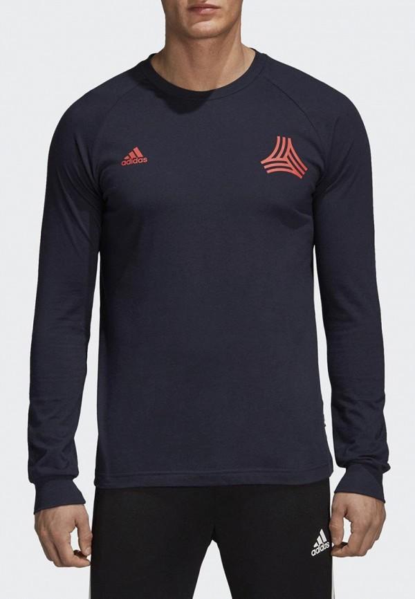 Купить Лонгслив спортивный adidas, adidas AD002EMCDGW5, синий, Осень-зима 2018/2019