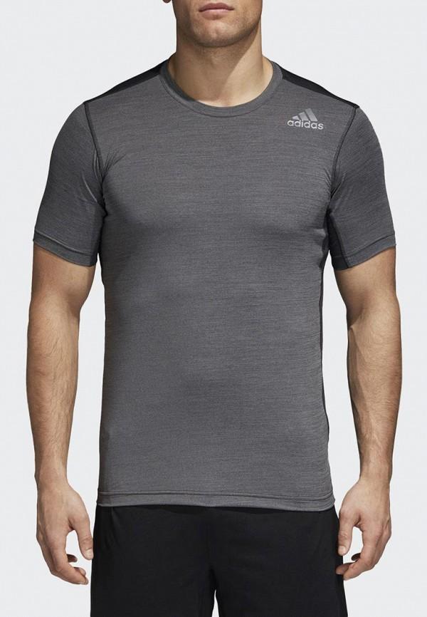 Футболка спортивная adidas adidas AD002EMCDGX1 adidas футболка