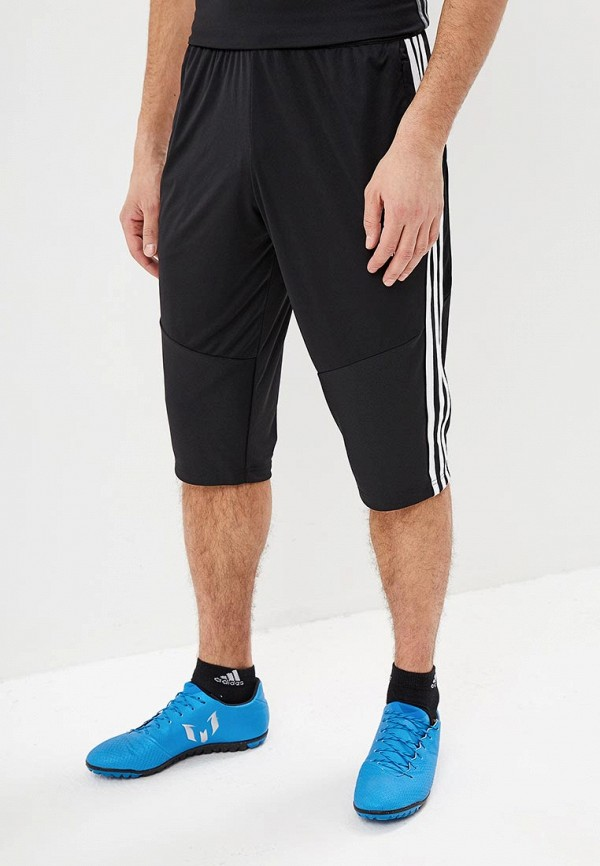 мужские спортивные бриджи adidas, черные