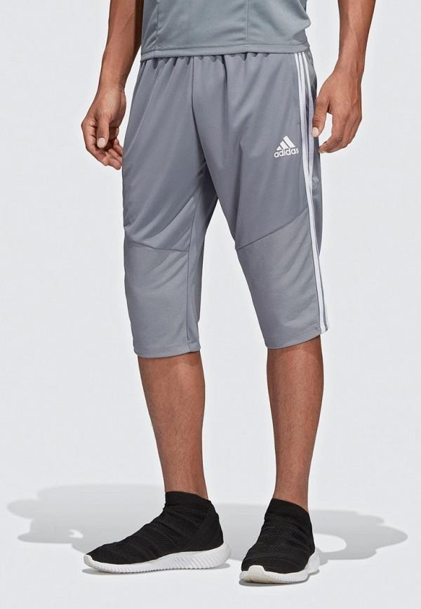 мужские спортивные бриджи adidas, серые