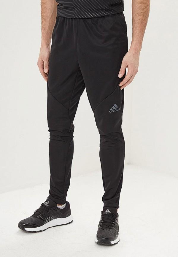 Купить Брюки спортивные adidas, adidas AD002EMEEHK5, черный, Весна-лето 2019
