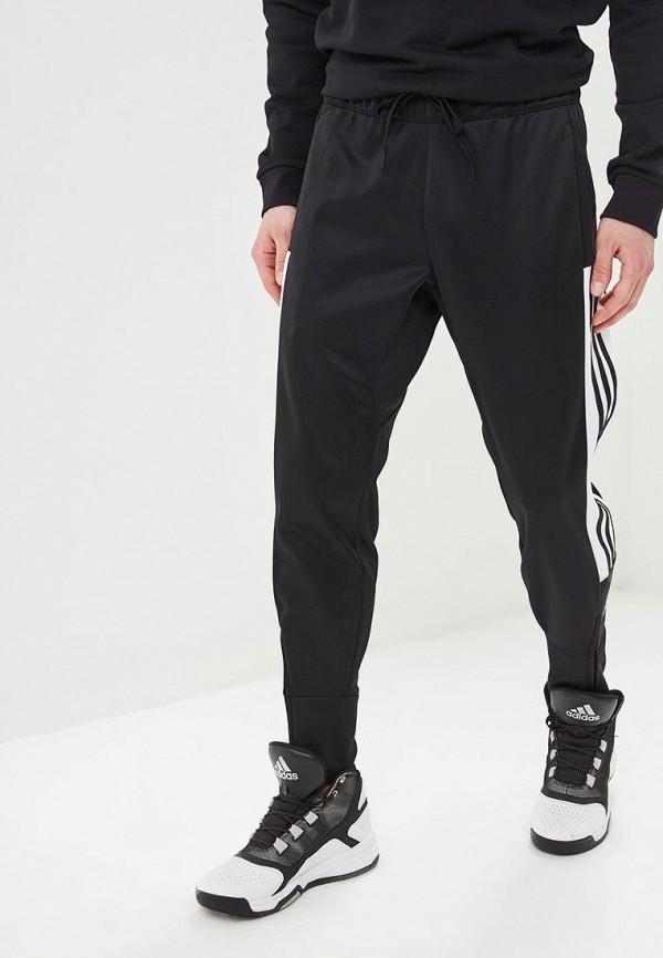 Купить Брюки спортивные adidas, adidas AD002EMEEHL5, черный, Весна-лето 2019