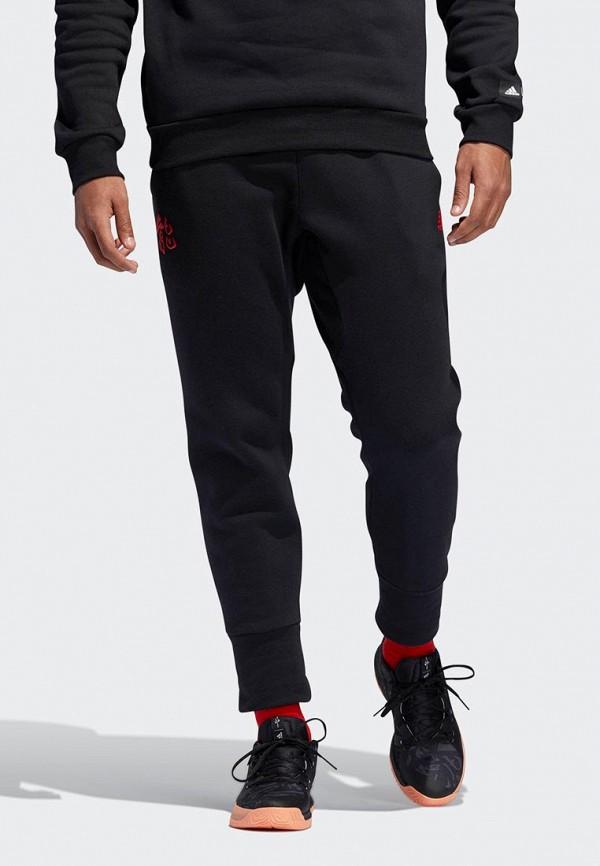 Купить Брюки спортивные adidas, adidas AD002EMEEHL8, черный, Весна-лето 2019