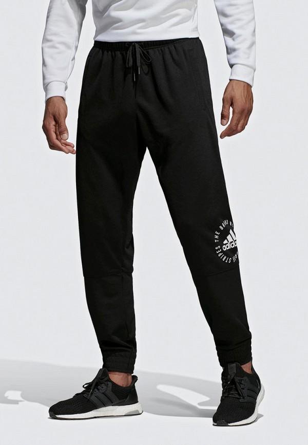 Купить Брюки спортивные adidas, adidas AD002EMEEHN2, черный, Весна-лето 2019