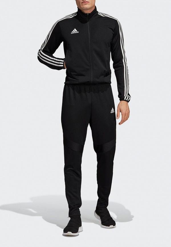 мужской спортивные комбинезон adidas, черный
