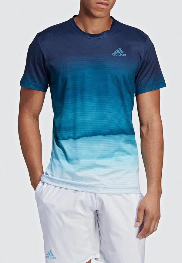 Футболка спортивная adidas adidas AD002EMEEHW4 футболка спортивная adidas adidas ad002emambw5
