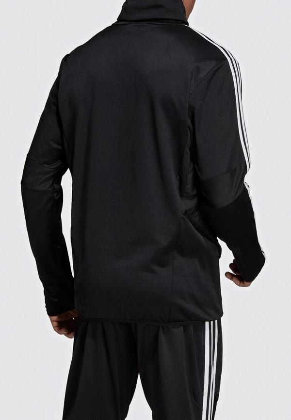Фото 2 - Свитшот adidas черного цвета