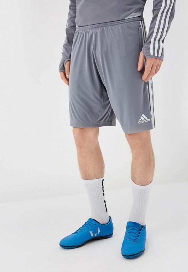 мужские спортивные шорты adidas, серые