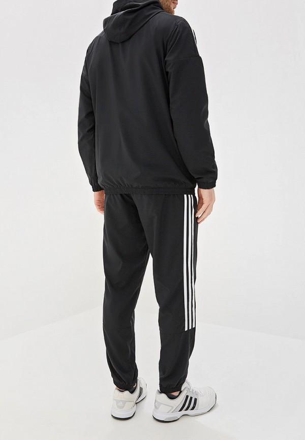 Фото 3 - Костюм спортивный adidas черного цвета