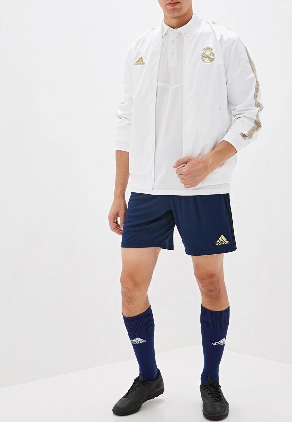 Фото 2 - Олимпийка adidas белого цвета
