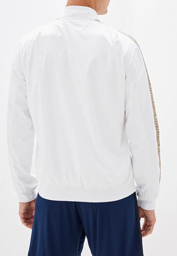 Фото 3 - Олимпийка adidas белого цвета