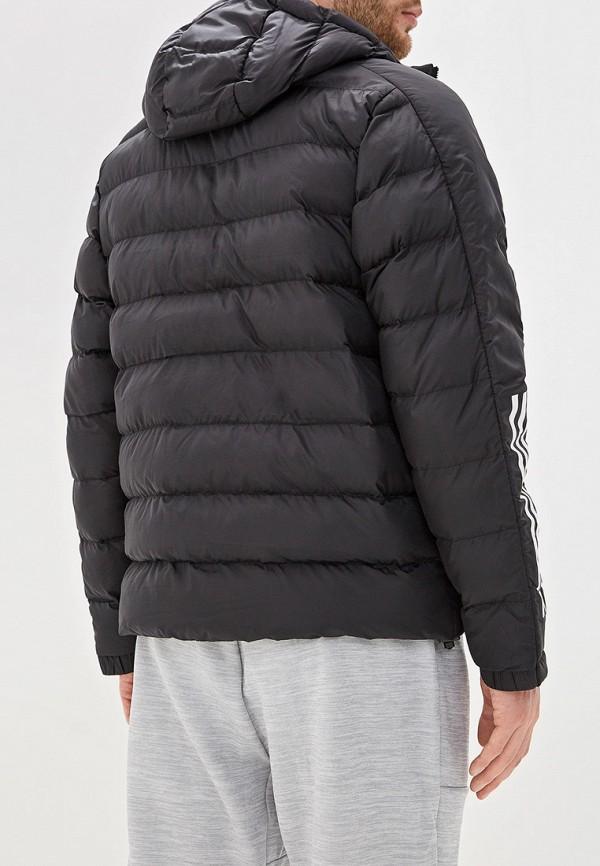 Фото 3 - Куртку утепленная adidas черного цвета