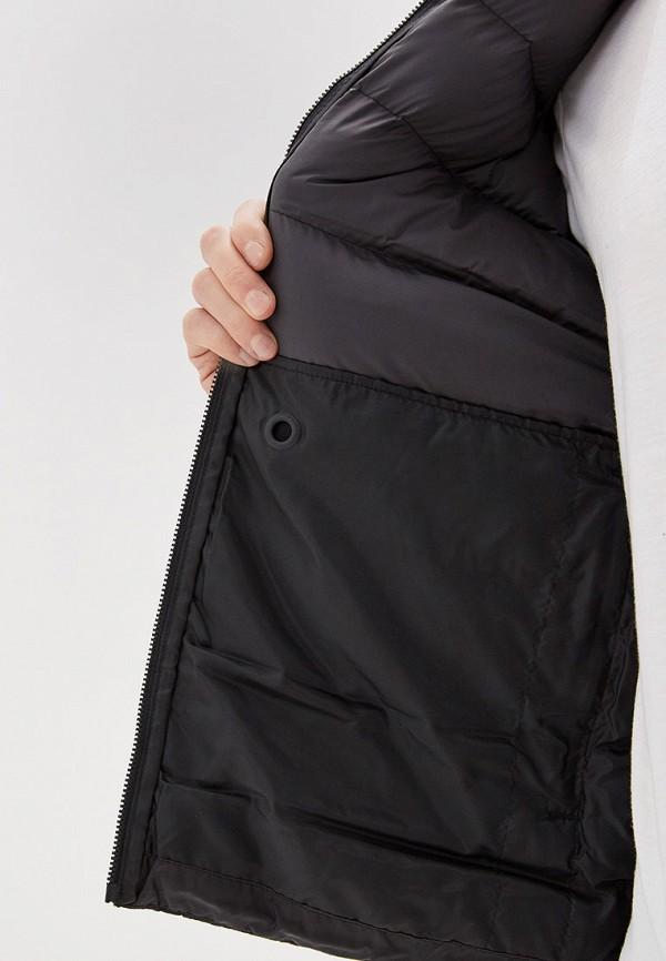 Фото 4 - Куртку утепленная adidas черного цвета