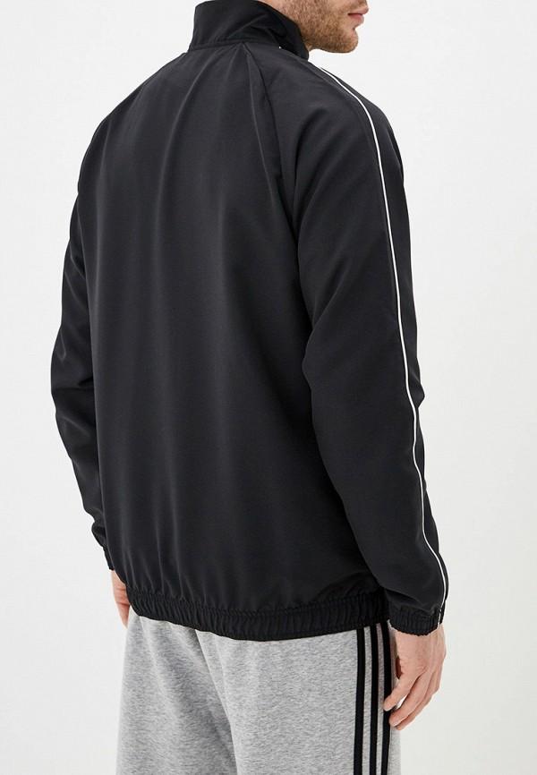 Фото 3 - Ветровка adidas черного цвета