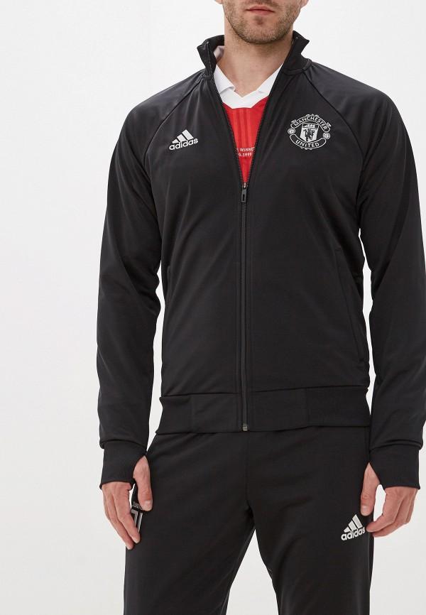 мужская олимпийка adidas, черная