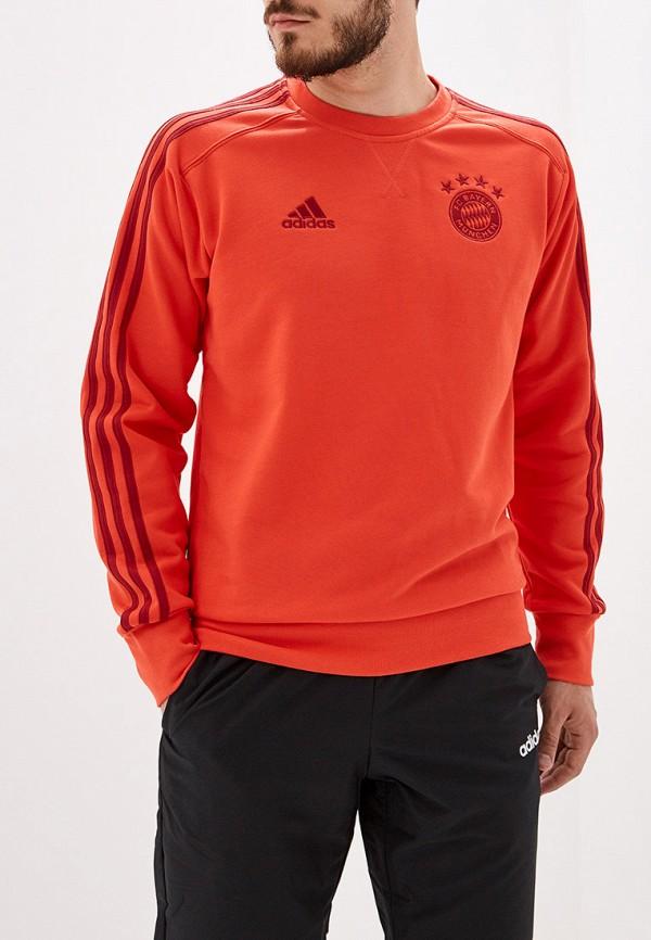 Купить Свитшот adidas красного цвета