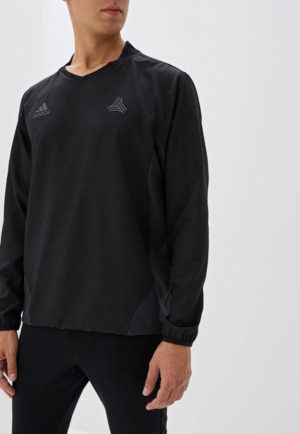 мужской лонгслив adidas, черный
