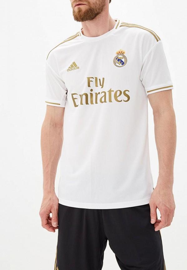 Купить Футболку спортивная adidas белого цвета