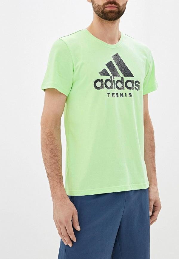 Футболка спортивная adidas adidas AD002EMFJZO2 футболка спортивная adidas adidas ad002emambw5